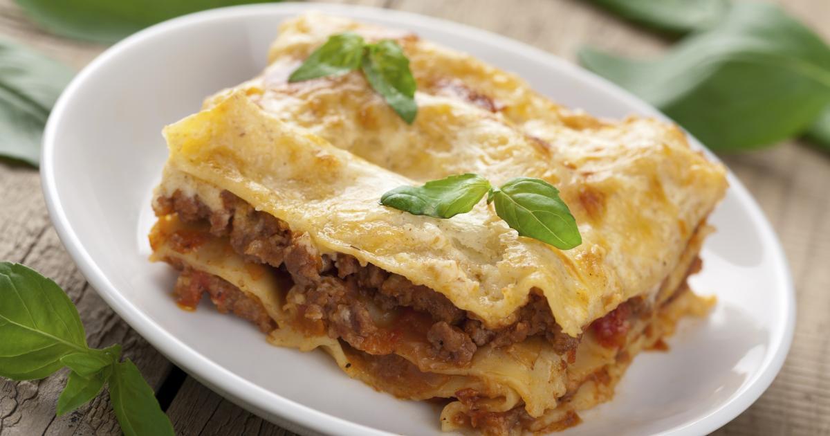 Recette lasagnes bolognaise maison 750g for Cuisine 750g