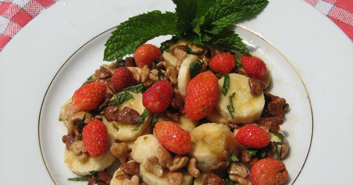 Recettes base de fraises et bananes les recettes les for Documentaire cuisine gastronomique