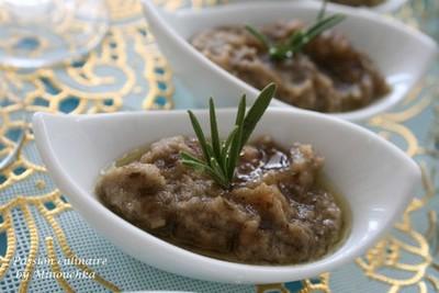 Recette caviar d 39 aubergine au miel et romarin 750g - Comment cuisiner les aubergines poele ...
