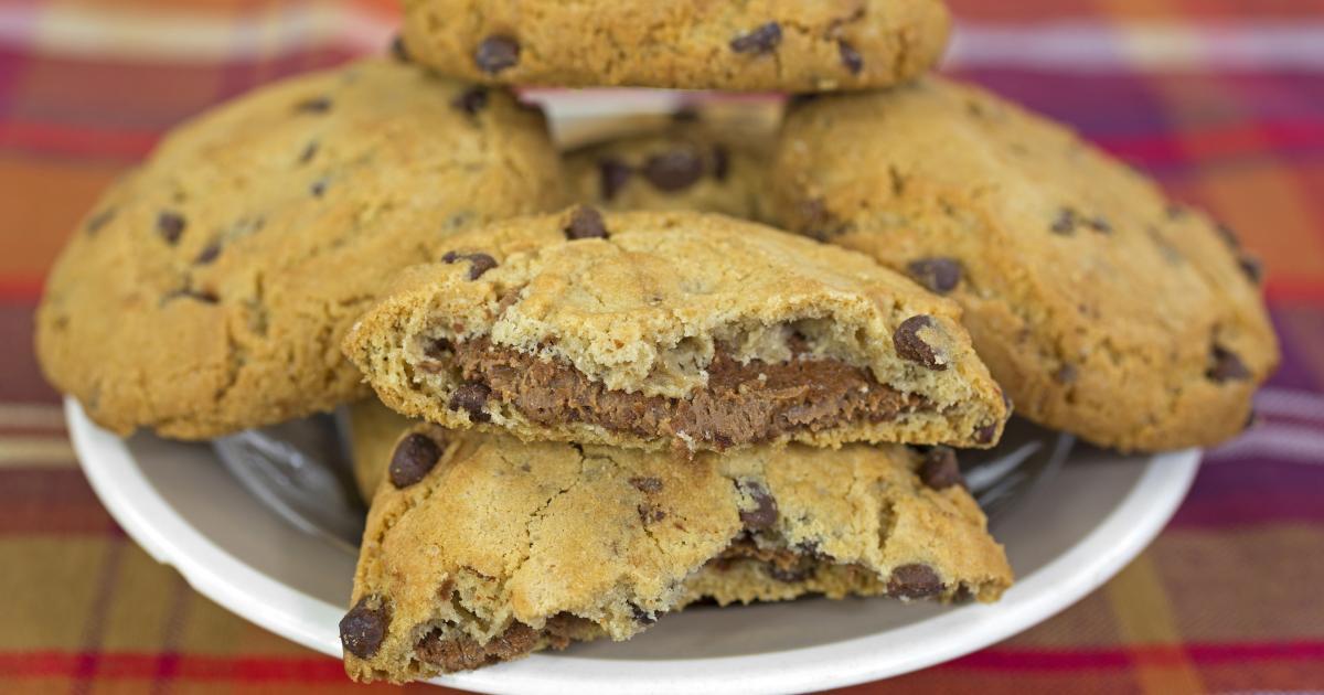Cookies noisettes-pralinoise