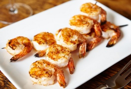 Recettes de crevettes au piment les recettes les mieux for Idee entree noel original