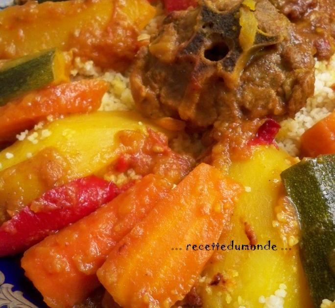 Recette couscous traditionnel 750g - Maroc cuisine traditionnel ...
