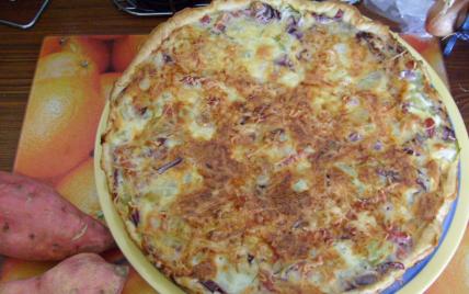 Recette tourte aux christophines chayottes de mamigoz - Cuisiner les chayottes ...