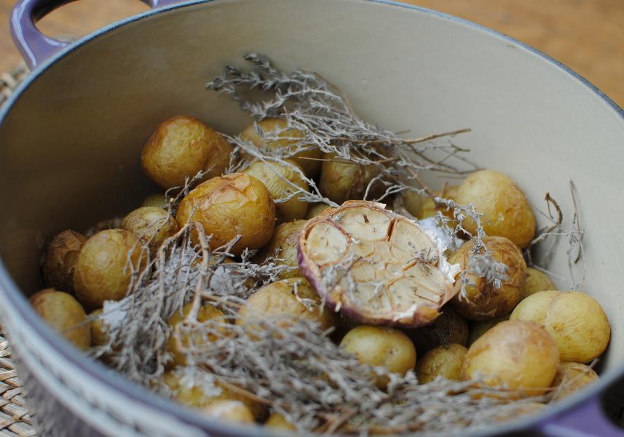 Recettes base de pommes de terre de noirmoutier les - Cuisiner les pommes de terre de noirmoutier ...