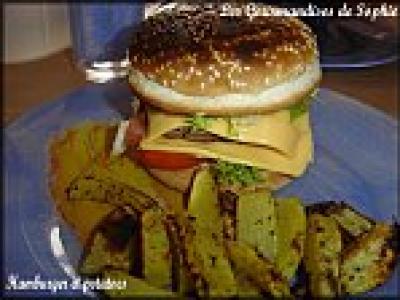 recette hamburgers maison et potatoes pic es 750g. Black Bedroom Furniture Sets. Home Design Ideas