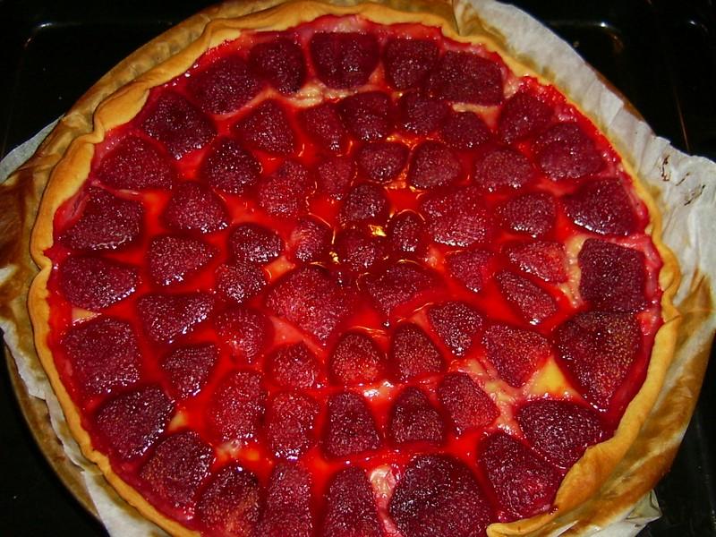 recette tarte aux fraises 233conomique 750g
