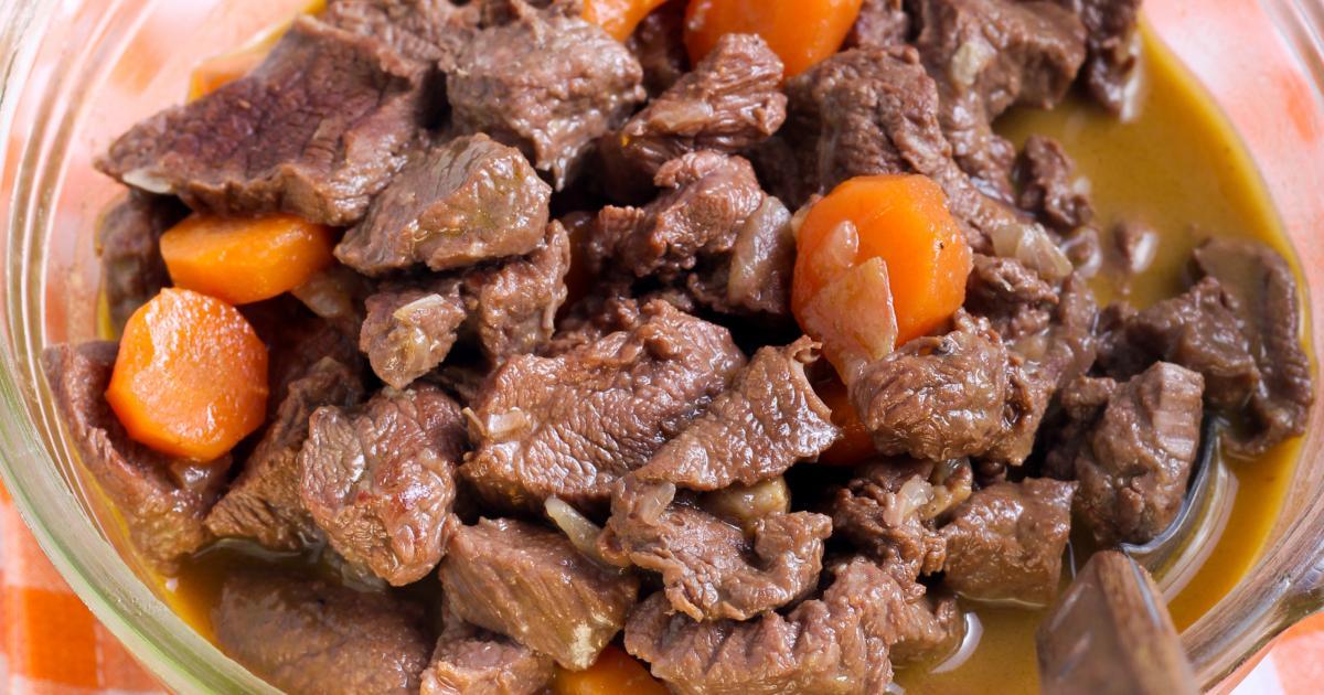 Recette boeuf carotte 750g - Cuisiner des carottes a la poele ...