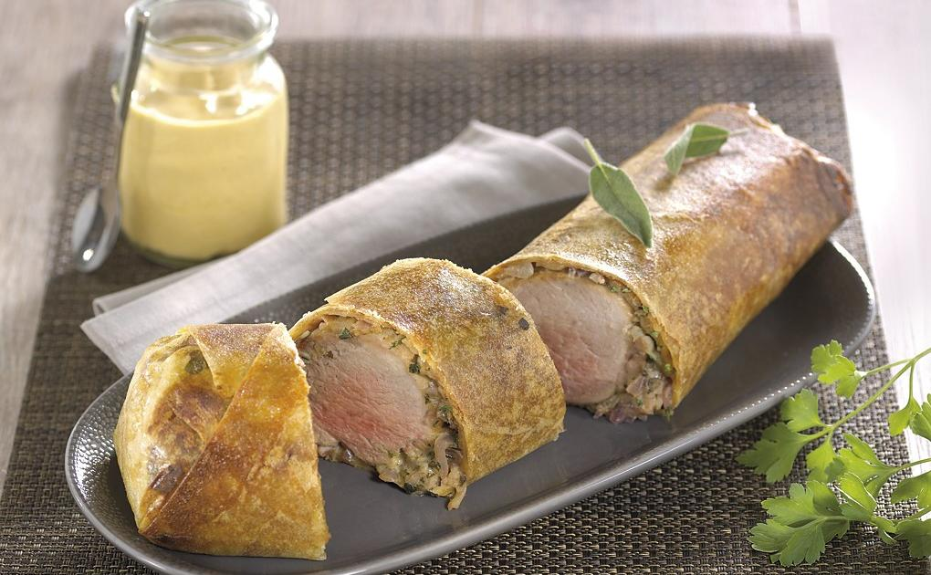 Recette filet mignon de porc en cro te 750g - Comment cuisiner un filet mignon de porc ...
