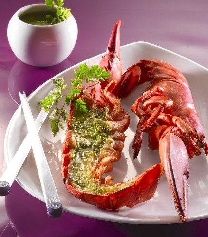 Recette homard au beurre persill 750g - Beurre persille thermomix ...