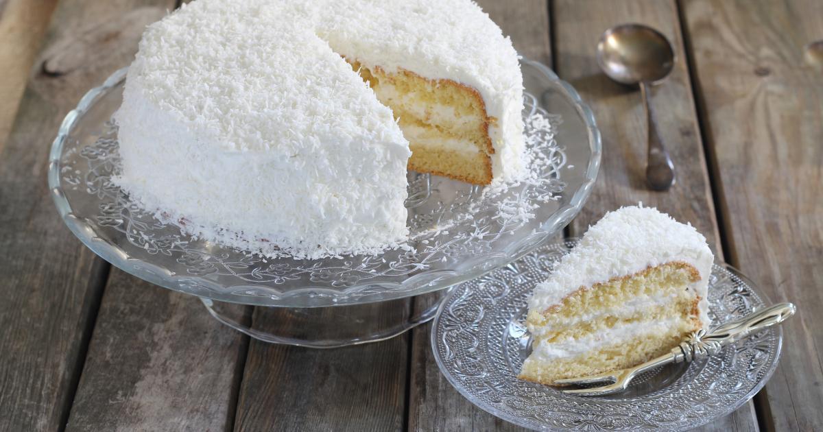 Recette Layer Cake Moelleux A La Noix De Coco G