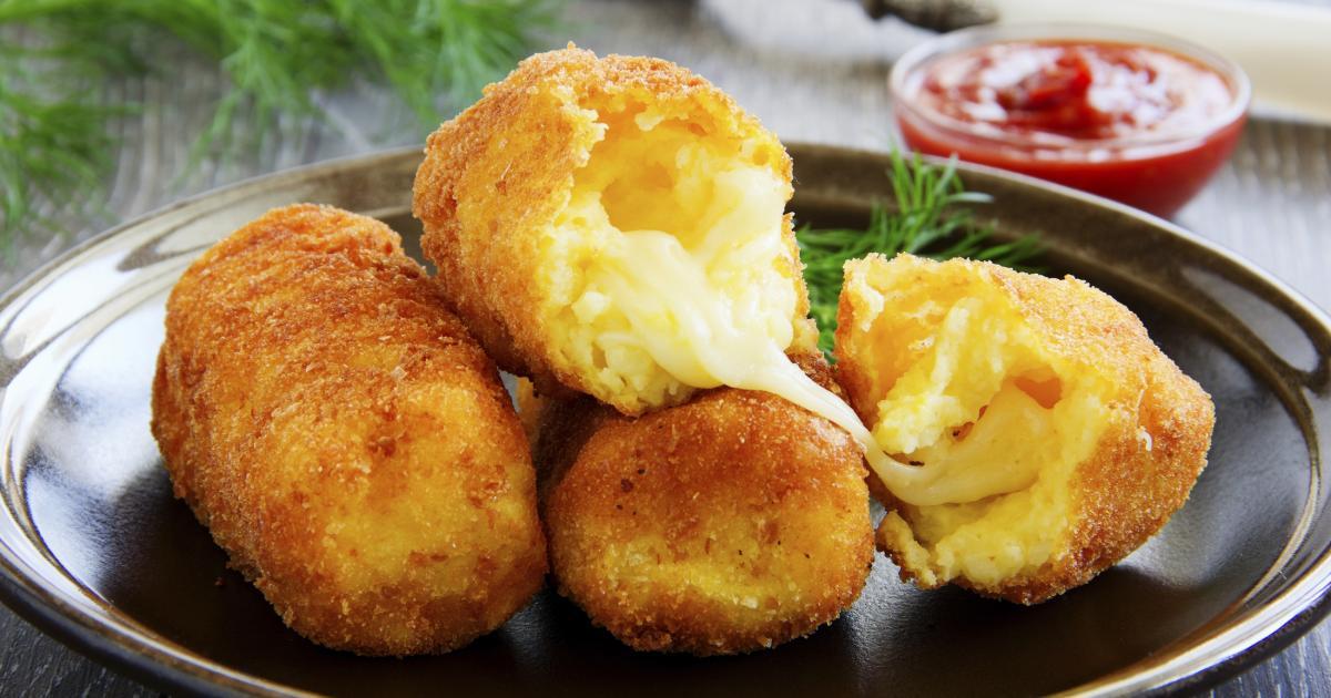 recettes des croquettes de pommes de terre au fromage les recettes les mieux not es. Black Bedroom Furniture Sets. Home Design Ideas