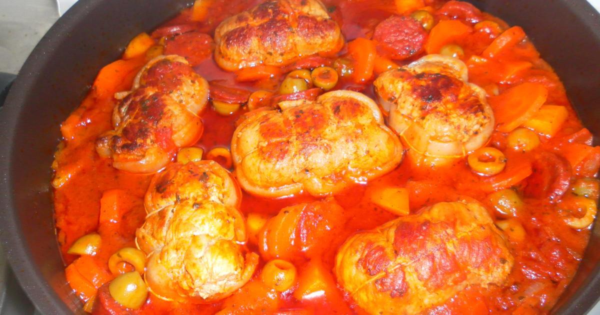 Recettes des paupiettes de veau la tomate les recettes - Cuisiner le tendron de veau ...