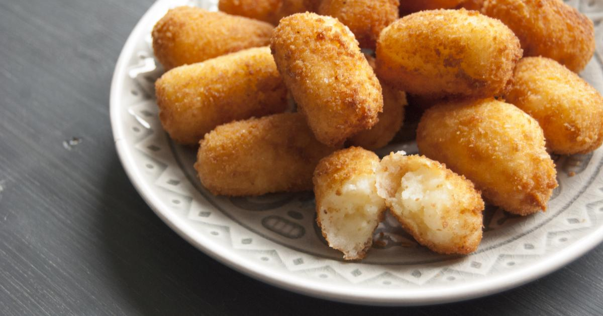 recette croquettes de pomme de terre 750g. Black Bedroom Furniture Sets. Home Design Ideas