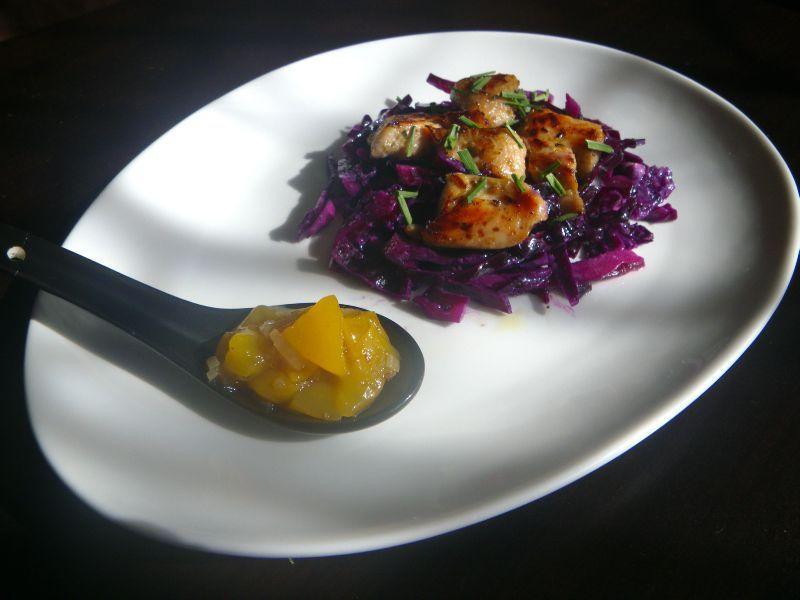 recette salade de chou rouge au raifort et minc de dinde caram lis 750g. Black Bedroom Furniture Sets. Home Design Ideas