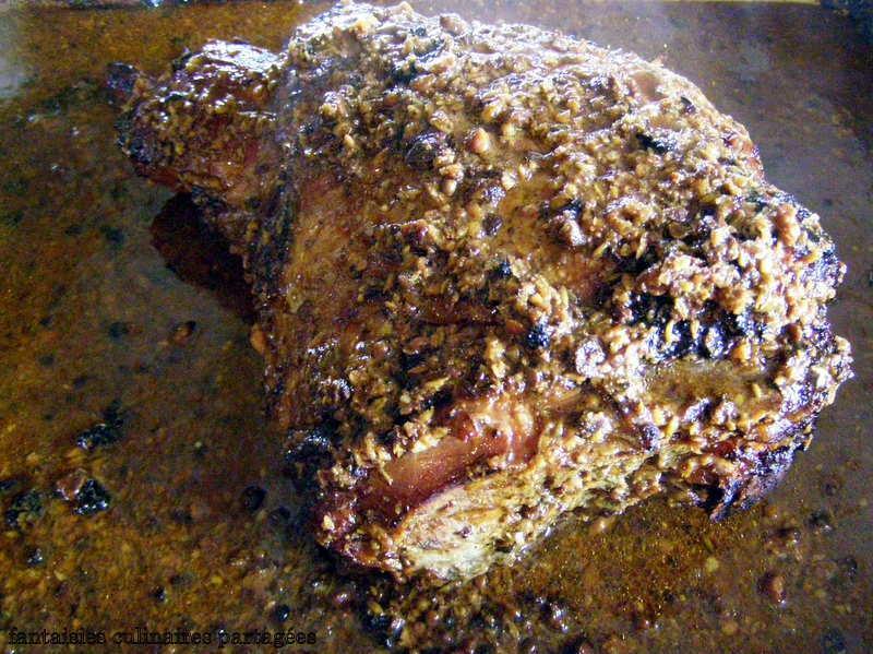 Recette gigot d 39 agneau aux pices 750g - Comment cuisiner un gigot d agneau ...