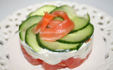 Recette fra cheur de saumon au ch vre 750g - Documentaire cuisine gastronomique ...