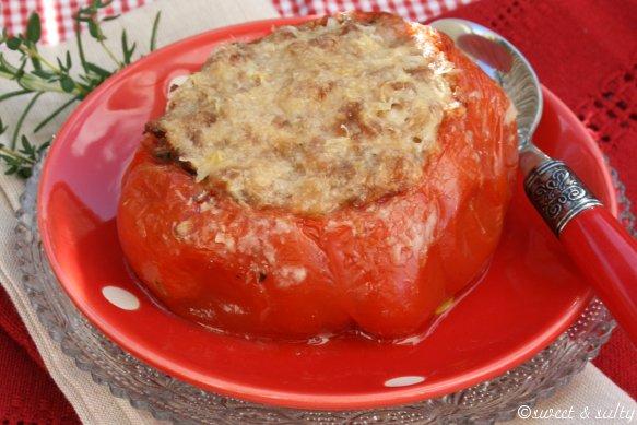 Recette tomate coeur de boeuf farcie aux deux viandes 750g - Cuisiner le coeur de boeuf ...