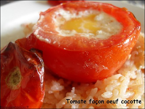 recette tomate farcie l 39 oeuf fa on cocotte 750g. Black Bedroom Furniture Sets. Home Design Ideas