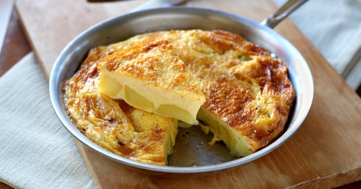 Recette tortilla aux pommes de terre en pas pas - Comment faire des tortillas ...