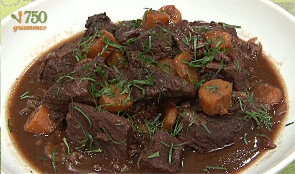 Boeuf bourguignon traditionnel vid o - Cuisiner le boeuf bourguignon ...