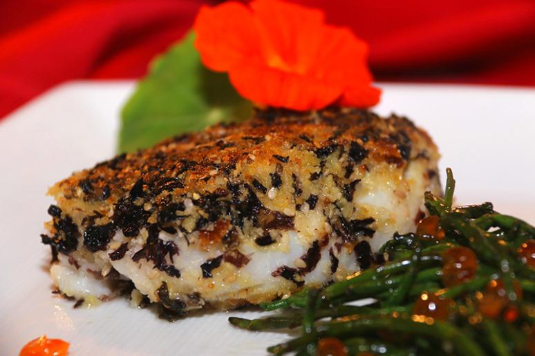 Recette dos de cabillaud pan la dulse 750g for Documentaire cuisine gastronomique