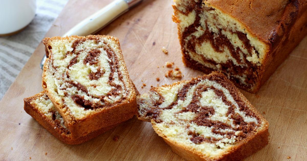 Recette Cake Marbr 233 Au Nutella En Pas 224 Pas