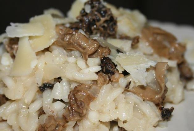 recette risotto aux morilles et parmesan 750g. Black Bedroom Furniture Sets. Home Design Ideas
