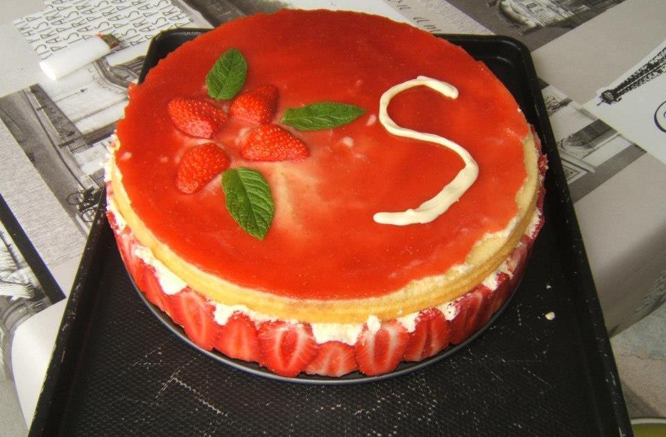 Recette fraisier faire pour le lendemain 750g - Cuisiner la veille pour le lendemain ...
