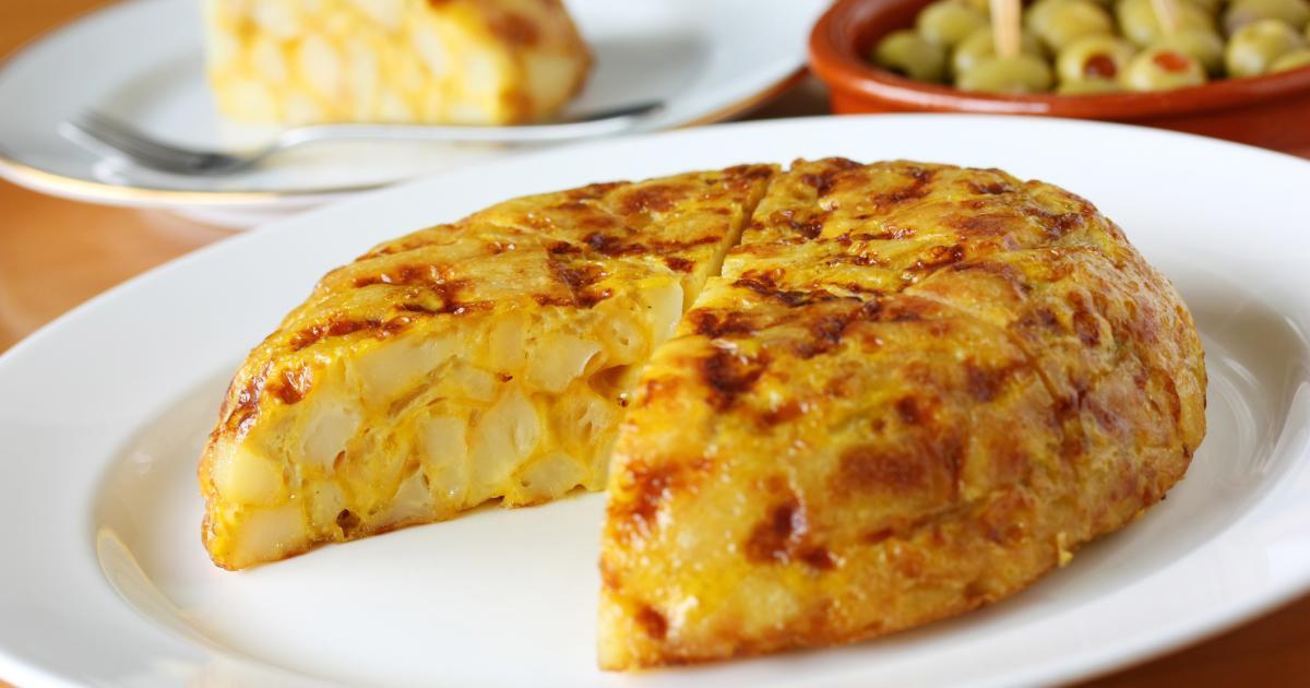 Recette La Tortilla Espagnole D Anita 750g
