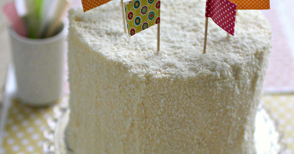 Recette Layer Cake Noix De Coco Et Ananas 750g