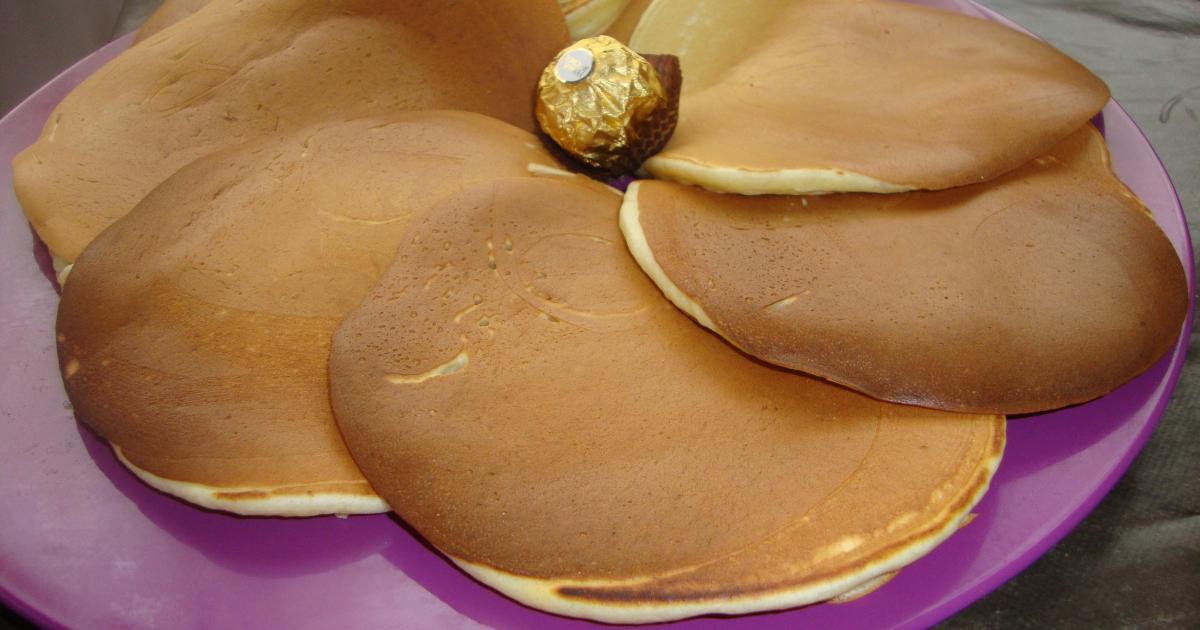 Recette - Pancakes légers et rapides | 750g