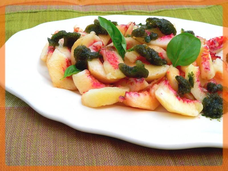 Recette salade de p ches de vigne au muscat granit for Documentaire cuisine gastronomique