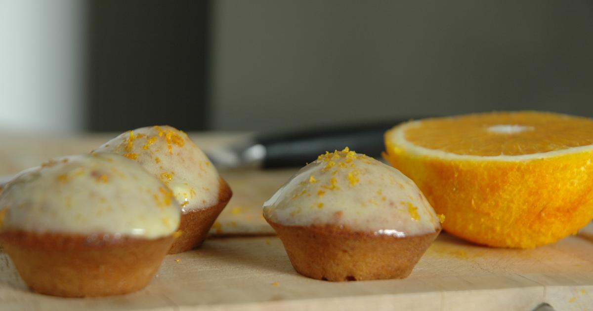 recette mini muffins au potimarron et gla age l 39 orange. Black Bedroom Furniture Sets. Home Design Ideas