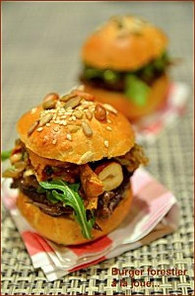 recette mini burger forestier la joue de b uf 750g. Black Bedroom Furniture Sets. Home Design Ideas