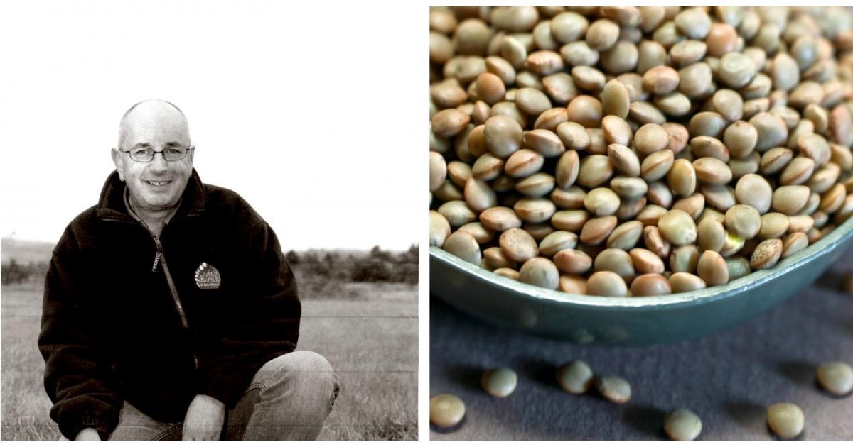 Serge ramadier producteur de lentilles blondes saint - Comment cuisiner des lentilles blondes ...