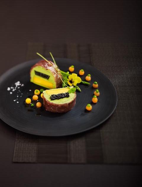 Recette marbr de caviar pois frais et mangue 750g for 750grammes com fiche de cuisine