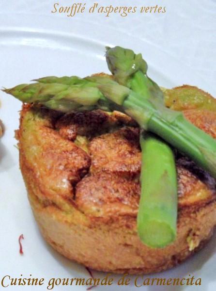 Recette souffl aux asperges vertes 750g - Cuisiner les asperges vertes ...