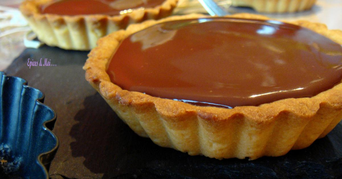 recette tartelettes chocolat caramel au beurre sal 750g. Black Bedroom Furniture Sets. Home Design Ideas
