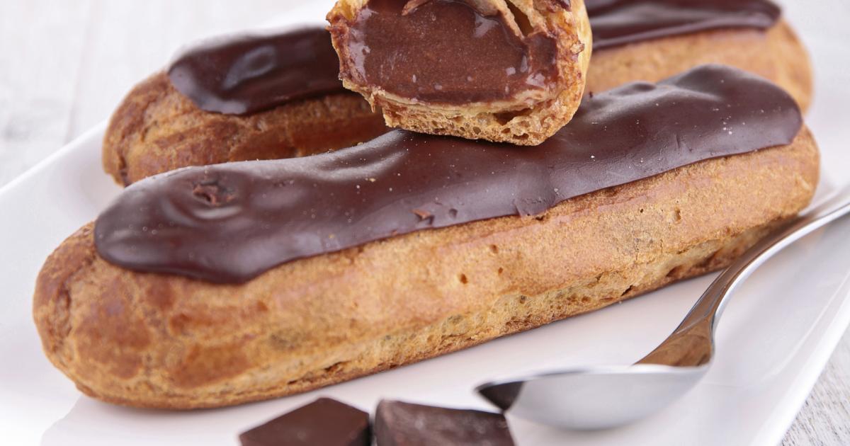 Eclair chocolat meilleur du chef
