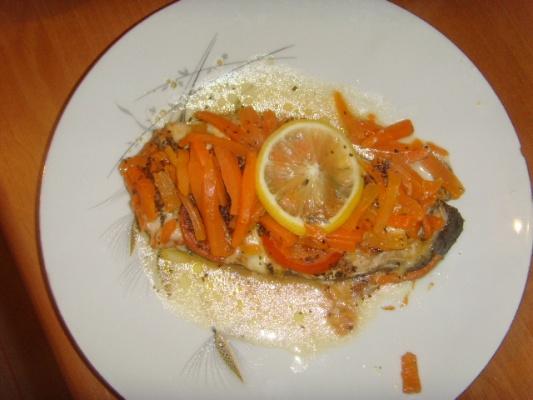 Recette pav de saumon au four 750g - Cuisiner du saumon au four ...