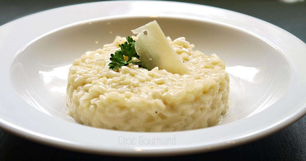 Recette risotto alla parmigiana 750g - Risotto noel ...