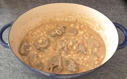 Recette rago t d 39 agneau aux cocos de paimpol 750g - Comment cuisiner le collier d agneau ...