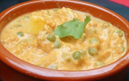 Recette cuisine indienne matar paneer 750g for Cuisine 750g