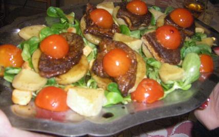 recette foie gras frais sur fond d 39 artichaut 750g. Black Bedroom Furniture Sets. Home Design Ideas