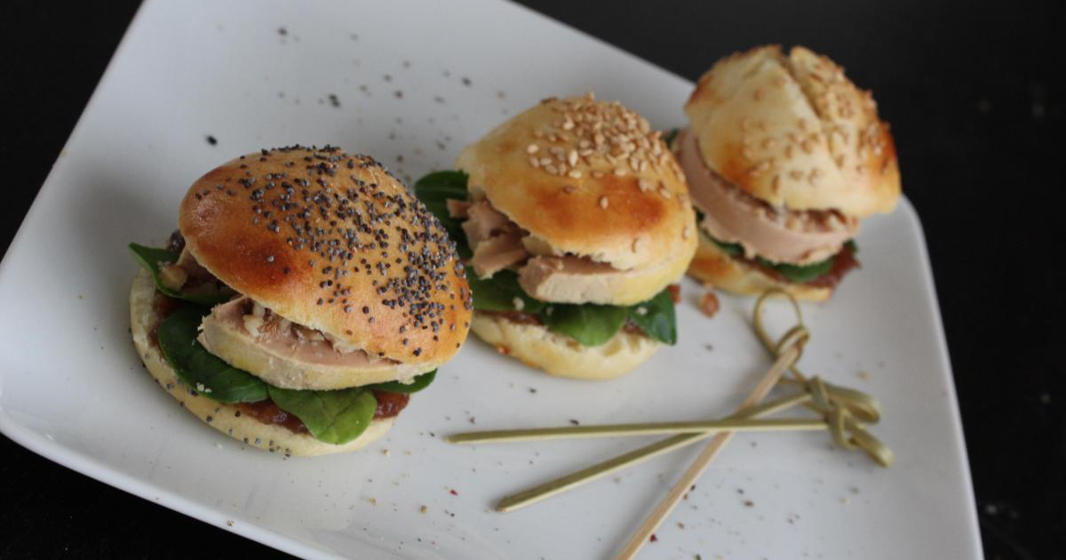 recette mini burger de foie gras 750g. Black Bedroom Furniture Sets. Home Design Ideas