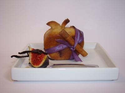 Recette moelleux aux pommes figues fraiches et th thai - Cuisiner figues fraiches ...