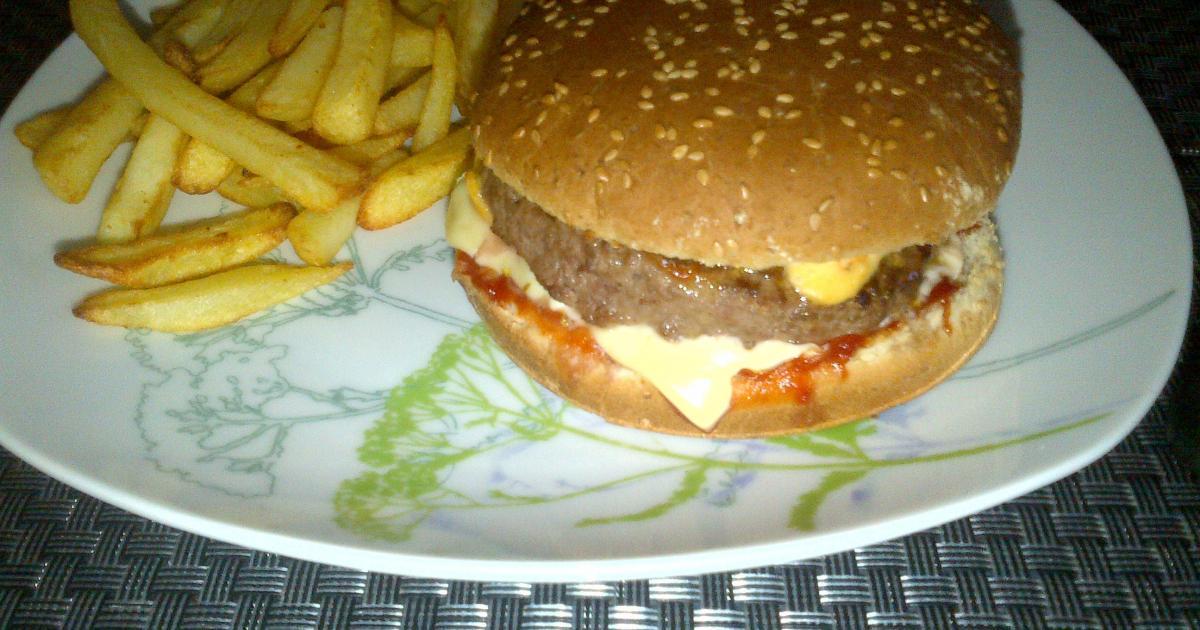 recette hamburger classique 750g. Black Bedroom Furniture Sets. Home Design Ideas