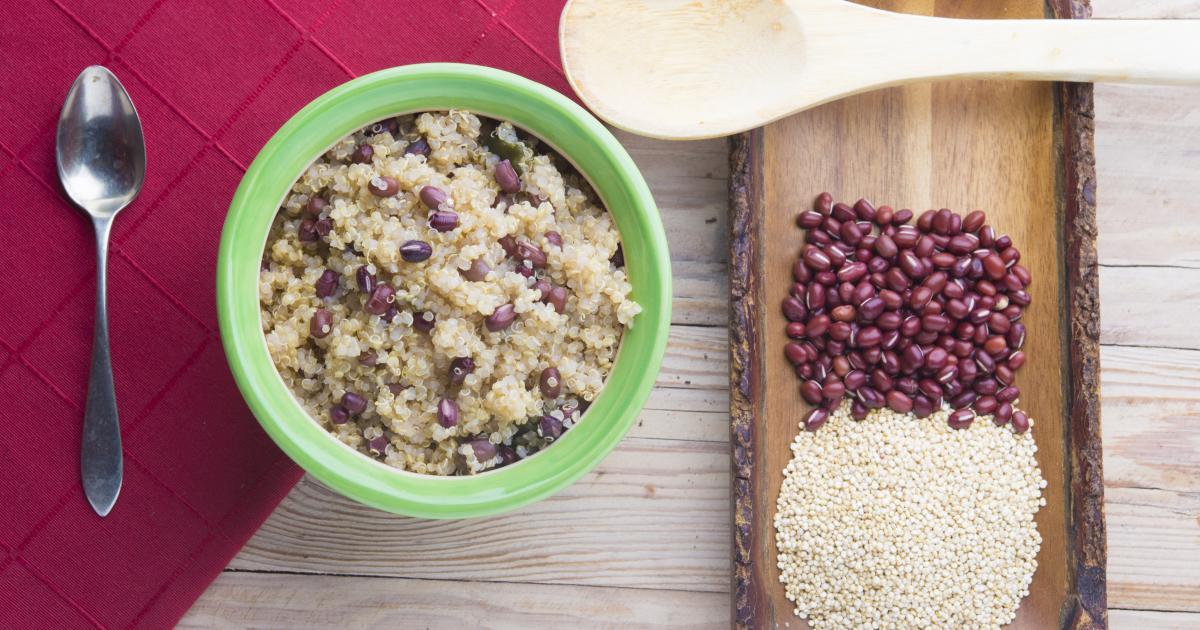 comment faire cuire du quinoa au four micro ondes. Black Bedroom Furniture Sets. Home Design Ideas