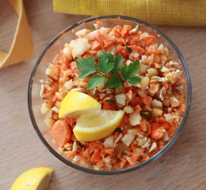 recette salade croquante et vitamin e radis noir carottes et pommes 750g. Black Bedroom Furniture Sets. Home Design Ideas