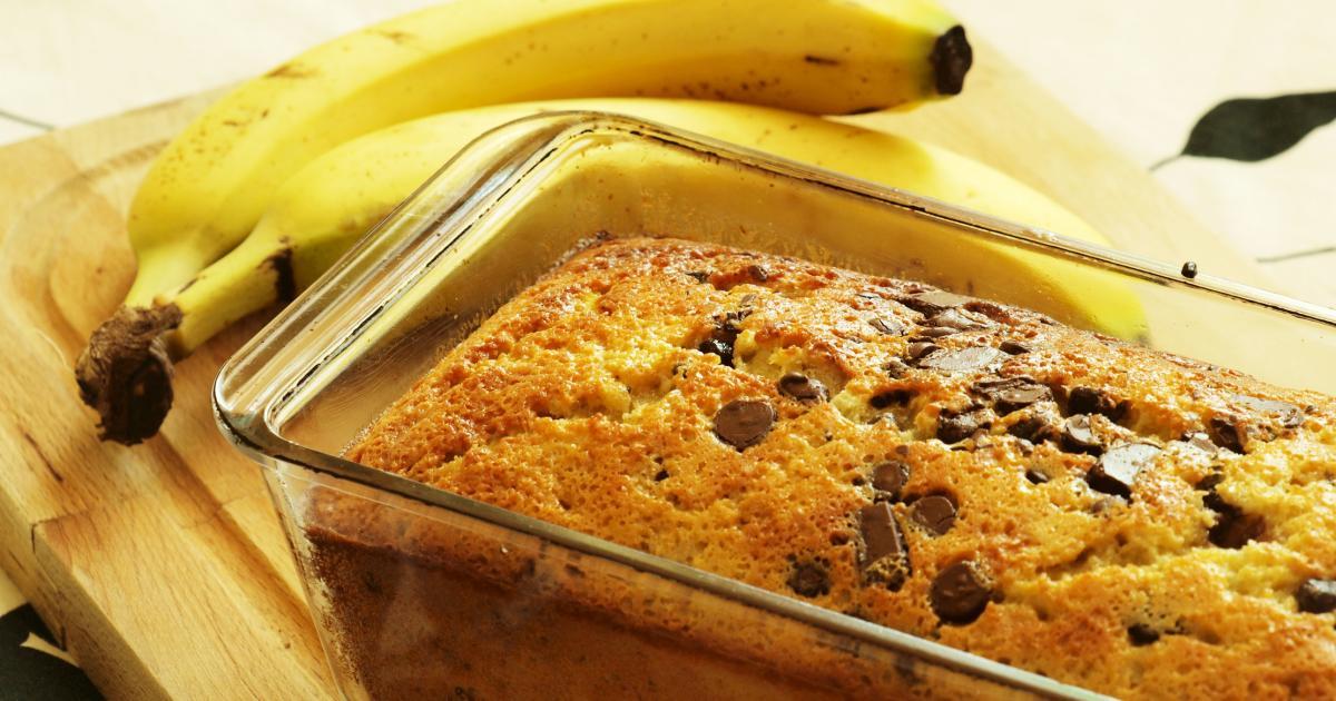Cake Banane Pepites Chocolat